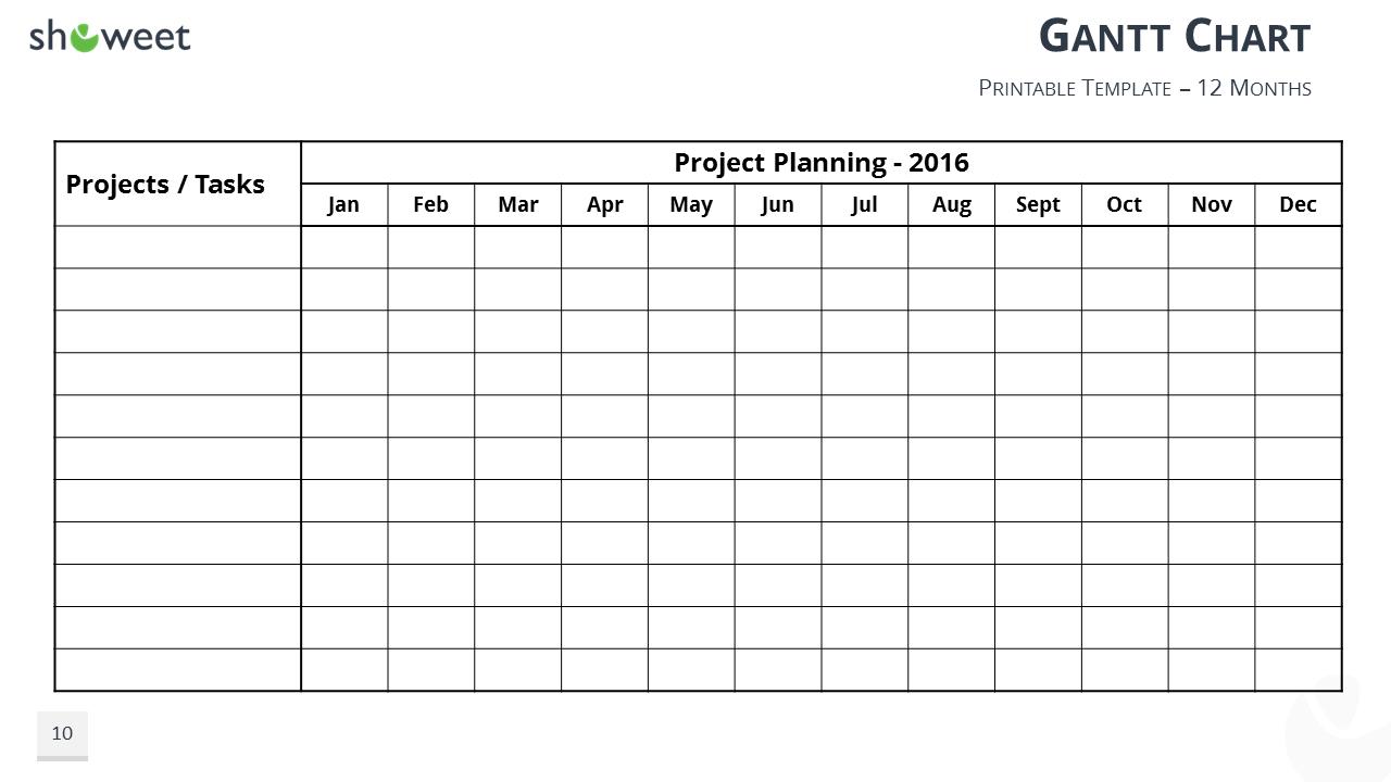 Word gantt chart template 2