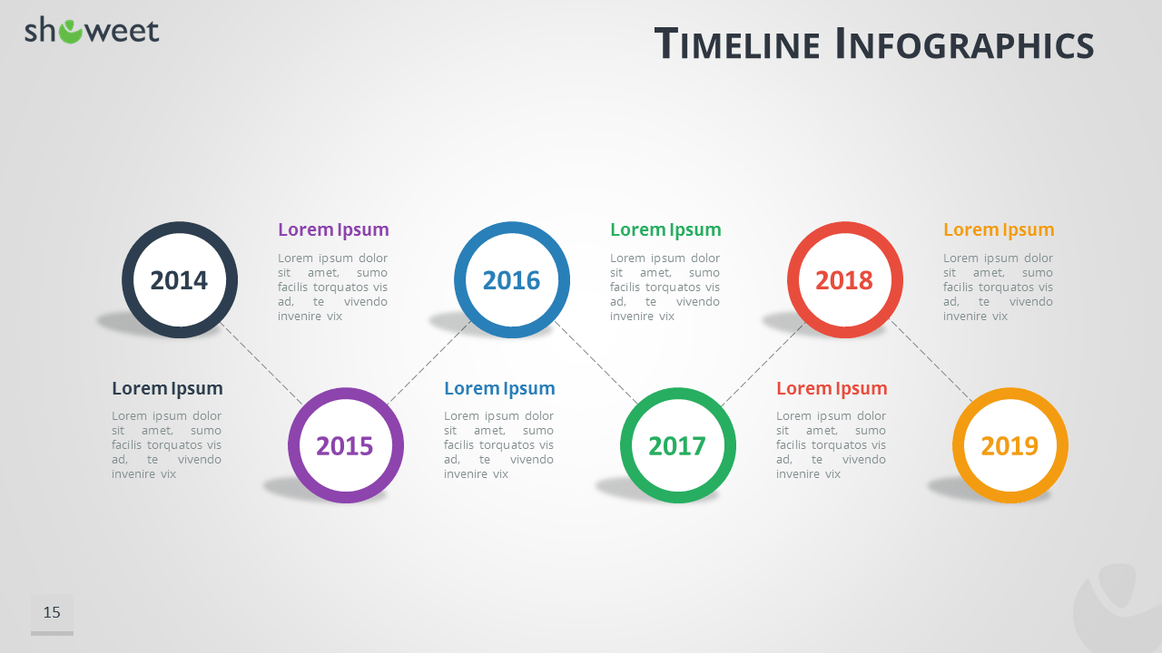 Sample Timeline for PowerPoint  Free Timeline Templates